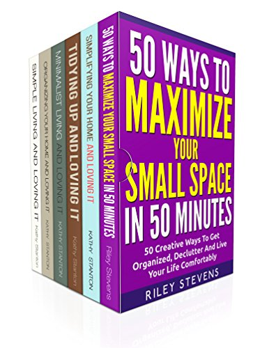 Cleaning Hacks And Decluttering Ideas Box Set (6 in 1): Learn Organization Strategies To Simplify Your Space In 7 Days (How To Declutter, Clean Your Home Fast, Maximize Your Space) (English Edition)