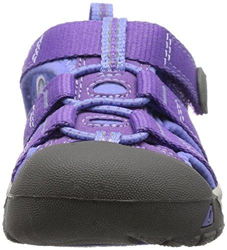 Keen Newport H2 Junior Sandal De Marche - SS16 Violet (Purple Heart/periwinkle)