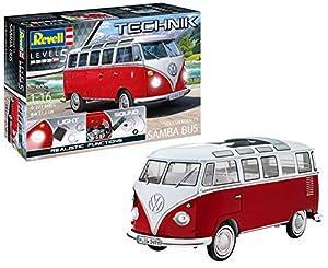 Autobús Revell 00455 Technik Volkswagen T1 Samba (1: Escala 16)