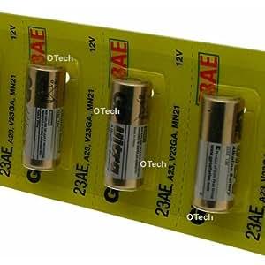 GP Batteries 23AE A23 12v Alkaline Batteries (Pack of 5)