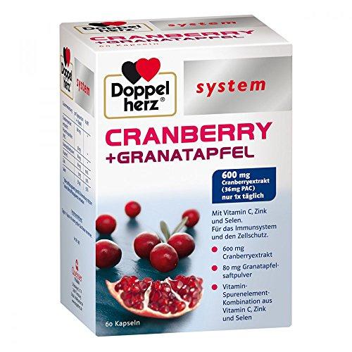Doppelherz Cranberry + Granatapfel system Kapseln 60 stk