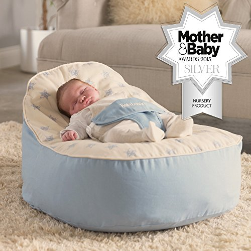 Bambeano® Baby Bean Bags Support Chair – with FREE 'My 1st Bean Bag' Cover – Luxury Cuddle Soft Cotton 51B2ArPhxOL