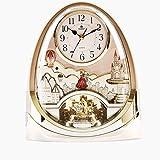 Re LFNRR jingle musicale orologio mute continentale camera da letto soggiorno giardino vento orologio orologi antichi orologi a pendolo,Golden
