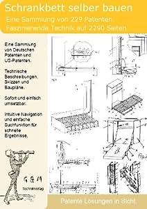 schrankbett selber bauen 229 patente zeigen wie software. Black Bedroom Furniture Sets. Home Design Ideas