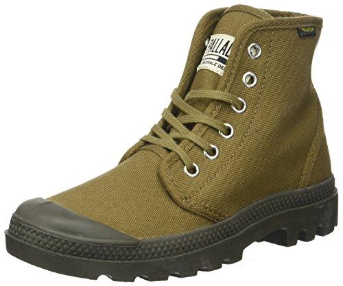 Palladium Unisex-Erwachsene Pampa Hi ORIG U Hohe Sneaker, Grün (Butternut/Tarmac), 37 EU (Weiß Hi Grau Sneakers Herren)