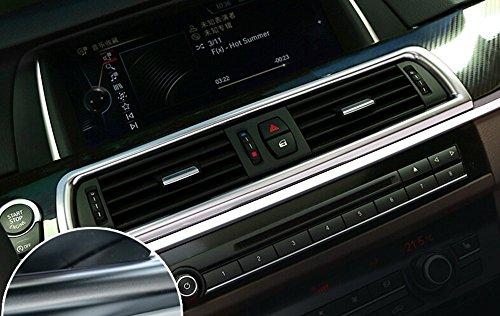 Auto Parts chrom Konsole Klimaanlage Vent Cover Trim Innen Zubehör Auto Styling