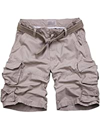 Mengmiao Bermudas Cargo Shorts Hombres Pantalones Cortos Leisure Casual pkcjb0PX