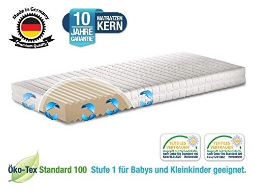 Kindermatratze und Jugendmatratze Razze 90x200 RG45 Kaltschaum MADE IN GERMANY Bezug waschbar teilbar Öko Tex Zertifikat | für alle gängigen Kinder Junior Ikea Betten | Matratze schadstoffgeprüft
