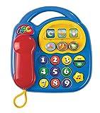 Simba 104012412 - ABC Telefon 20 x 20 cm, 2-sort.