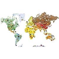 Janod - Magneti'Stick Mapa del mundo (J02850)
