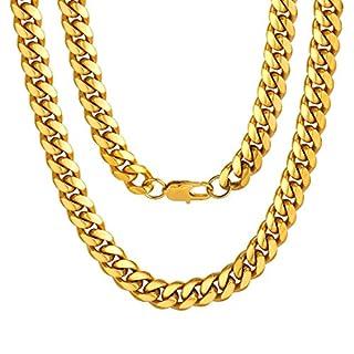 ChainsPro Panzerkette o. Panzerarmband Gold goldfarben versilbert Halskette Armband Goldkette Herren-Kette Herrenarmband Damen Schmuck ab Fabrik
