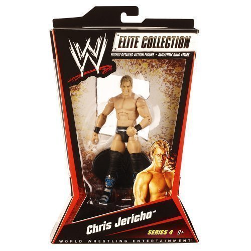 WWE Elite Collection Chris Jericho Alt. Outfit Figure Series #4 by Mattel [並行輸入品] (Wwe Alt Spielzeug)
