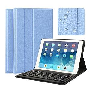 Cet iPad housse a été conçue à la perfection avec des matériaux de haute qualité et un aspect élégant. Tous les ports sont accessibles, découpes parfaites pour tous les connexions et l'appareil photo.  iPad housse magnétique avec fonction sommeil / r...