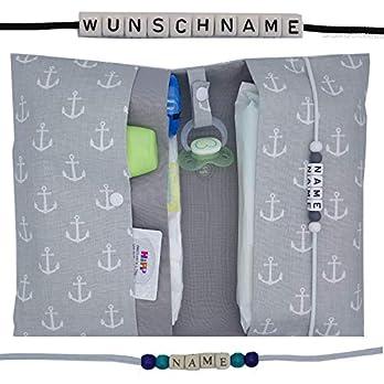 Große Windeltasche XXL mit Name Wickeltasche