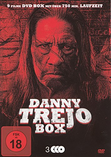 Danny Trejo Box - 9 Filme auf 3 DVDs - Drug Lord, The Devil's Brides & 7 weitere