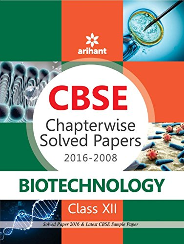 CBSE Chapterwise 2016-2008 Biotechnology Class 12th