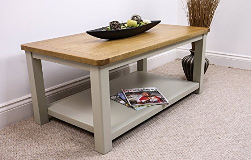 Windermere Sage Grey Painted Coffee Table ...