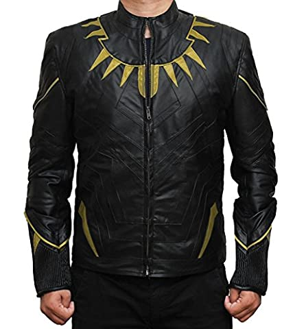 Costume Civil War Black Panther - Civil War Black Panther Golden and Black