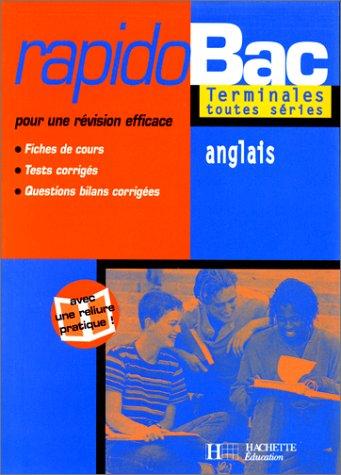 Rapidobac : anglais terminale ES, L, S