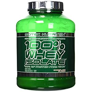 Scitec Nutrition 100% Whey Isolate Suplemento Nutricional de Proteinas con Sabor de Chocolate - 2 kg