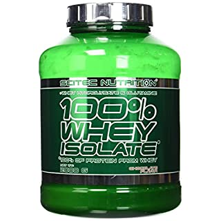 Scitec Nutrition 100% Whey Isolate Powder - 2000g, Chocolate