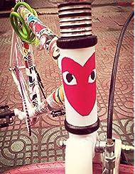 10 PCS fija la etiqueta engomada de la bicicleta de la bici de las etiquetas engomadas de las bicis