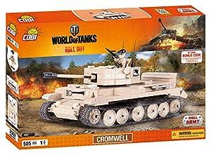 Wargaming Cobi - Tanque británico Cromwell de 225 x 115 x 115 mm, Color Beige (3002)
