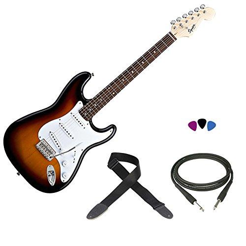 fender-squier-bullet-sb-kit-chitarra-elettrica-modello-stratocaster-tracolla-cavo-plettri