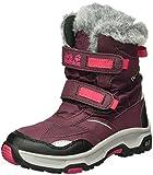 Jack Wolfskin Mädchen Girls Snow Flake Texapore Trekking-& Wanderstiefel, Rot (Dark Berry 2009), 35 EU