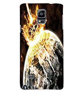 ColourCraft The Galaxy Design Back Case Cover for SAMSUNG GALAXY NOTE 4