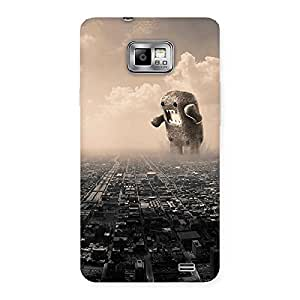 Impressive Destroy City Back Case Cover for Galaxy S2