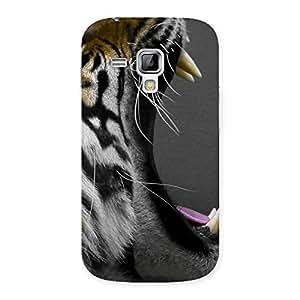 Enticing Roar Tiger Multicolor Back Case Cover for Galaxy S Duos