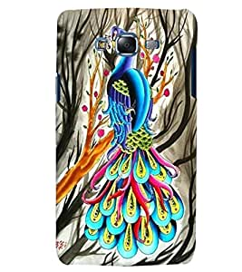 Citydreamz Peacock Feathers/Birds Hard Polycarbonate Designer Back Case Cover For Samsung Galaxy Grand Neo/Grand Neo Plus I9060