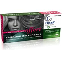Arkopharma Forcapil Hair Activ Lot de 3 x 30 Comprimés