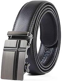 AFHWUDDW Taillengürtel Men'sleatherbeltmenleather beltautomatic bucklefashionhigh qualitymen's belt