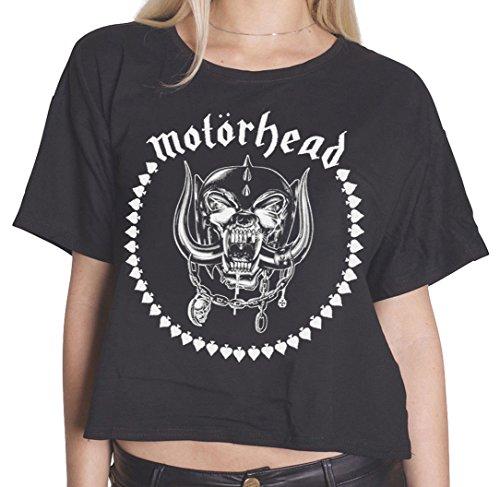 Motorhead -  T-shirt - Donna nero L