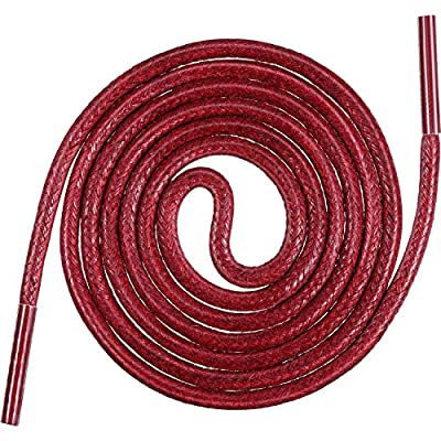 3 Pairs Shoelaces Round Waxed Shoe Laces 80 cm Dress Shoelaces for Men and Women's Casual and Dress Shoes : everything five pounds (or less!)