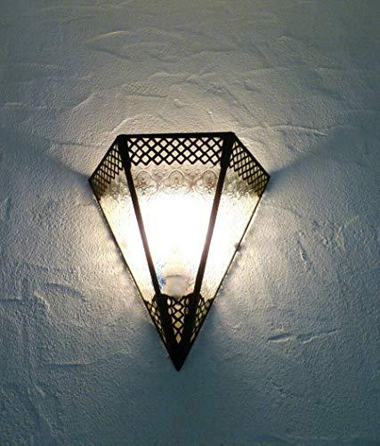 Aplique de pared marroquí luminoso, farol lámpara iluminación de pared