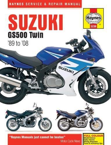 Suzuki Gs500 Twin (Haynes Service and Repair Manual) por Haynes Publishing