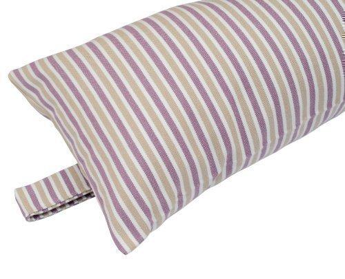 De Luxe Lavande New England Rayure 100% Tissus De Coton Bourrelet Anti Courant D'air