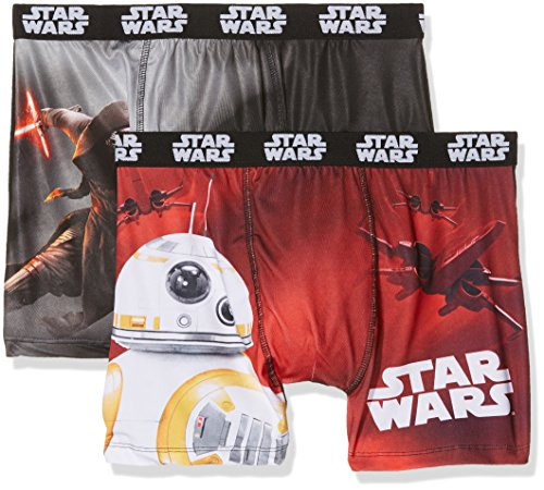 Star Wars packx2, Boxer Uomo, Mehrfarbig (Multicolor A4), Small (pacco da 2 )