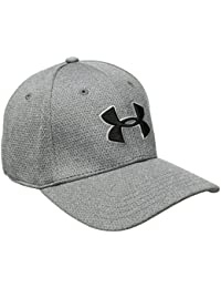 Under Armour Men's Heather Blitzing Curved Brim Cap