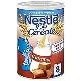 Nestlé p'tite céréale complètes saveur caramel 400g dès 8 mois - ( Prix Unitaire ) - Envoi Rapide Et Soignée