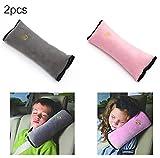2pc-universal auto cintura di sicurezza per proteggere, spallina, cintura di regolazione sedile cuscino per bambini e adulti
