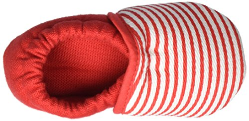 Nanga - Streifchen, Scarpine e pantofole primi passi Bimba 0-24 Rosso (Rot)
