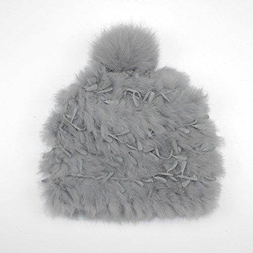 Automne et hiver Chapeaux tricotés chauds de mode, Chapeau mignon de chapeau de tête de chapeau de dames ( couleur : 3 ) 4