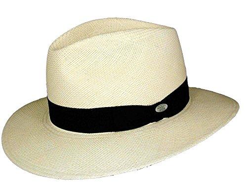 Mayser en plus chapeau de paille Noir - bleached/schwarz