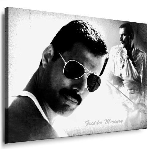 Bilder Kunstdrucke / Boikal / Leinwand Bild mit Keilrahmen Queen - Freddie Mercury 100x70 cm xxl.650