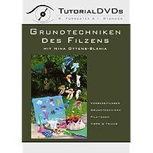 Grundtechniken des Filzens mit Nina Ottens-Blania (Tutorial DVD für PC und MAC)