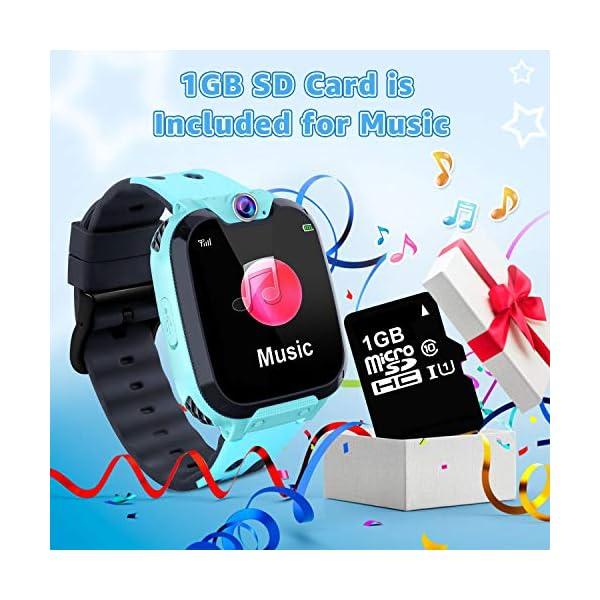 Reloj GPS Niños Smartwatch Phone - Reloj de Pulsera Inteligente con Ubicación GPS LBS Reloj con Call Voice Chat SOS… 7